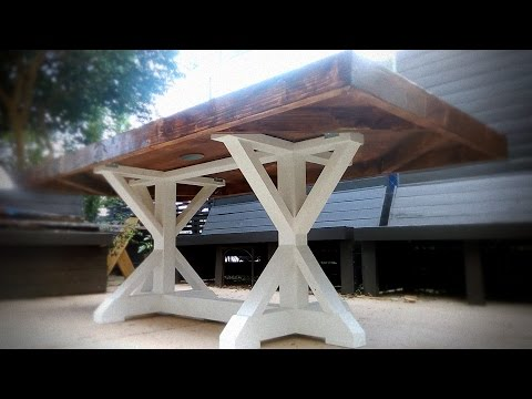 The Farmhouse Table Build / A commissioned piece 1 of 2