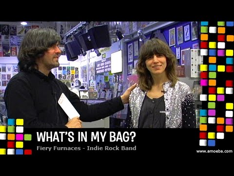 The Fiery Furnaces - What's In My Bag?