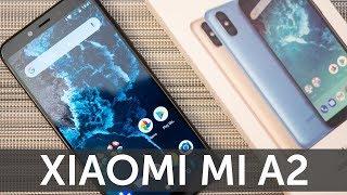 Xiaomi Mi A2 4-64GB Black распаковка рядом с Mi A1 (Mi A2 Unboxing)