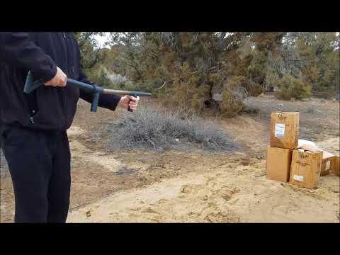 $30 Homemade Zombie/SHTF Pipe Shotgun!! Slamfire Black Pipe Shotgun.