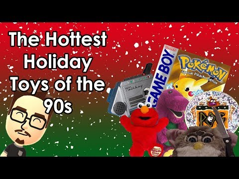 The Hottest Holiday Toys of the 90s