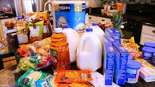 GROCERY HAUL // FAMILY OF 4 // GLUTEN FREE GROCERIES