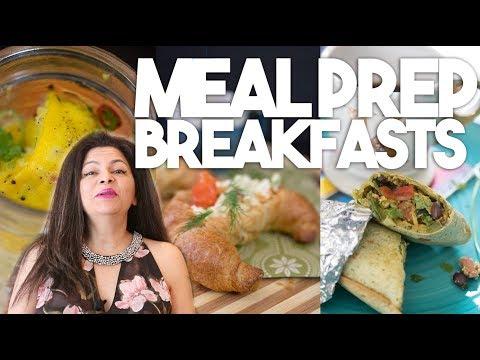 Meal Prep | 3 Make Ahead Breakfasts | Kravings