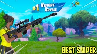 people say i'm the best sniper in fortnite... (aimbot?)