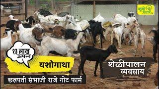 Goat Farming I शेळीपालन शेतीपूरक व्यवसाय