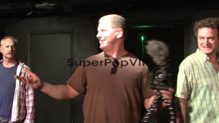 PERFORMANCE: Matt Walsh, Ian Roberts and Matt Besser make...