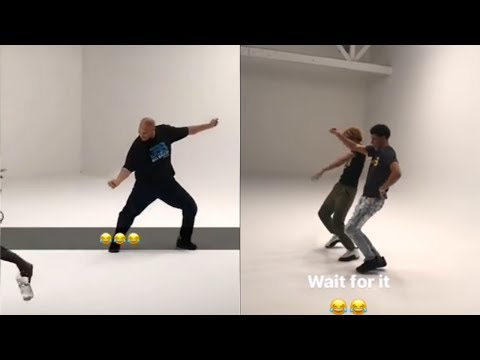Lonzo, LaVar & LaMelo Ball Dance to Michael Jackson and Hit the Quan on Instagram Live