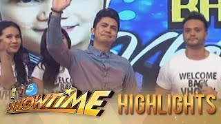 It's Showtime: Vhong Navarro makes tearful return on Showtime!