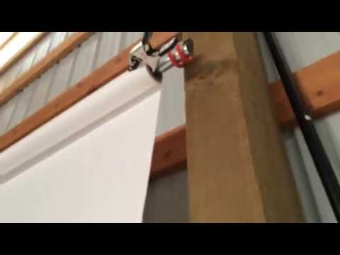 Make a Seamless Backdrop Holder out of Hooks & Conduit