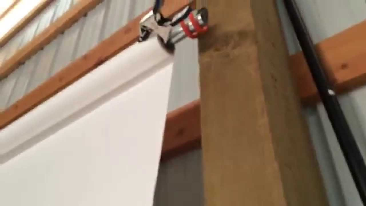 make a seamless backdrop holder out of hooks conduit youtube