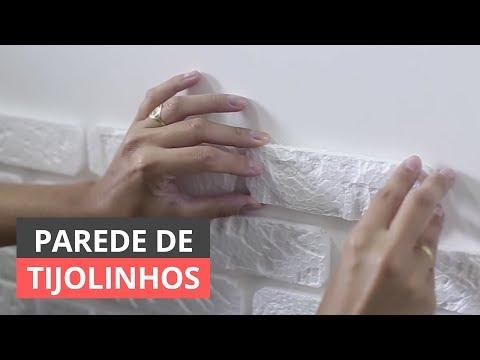DIY: Como fazer parede de tijolinho de isopor