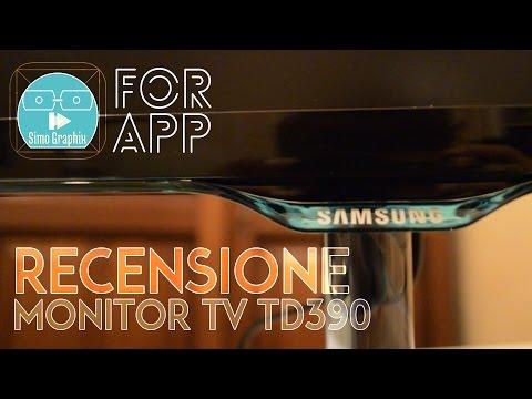Recensione Monitor TV Samsung TD390