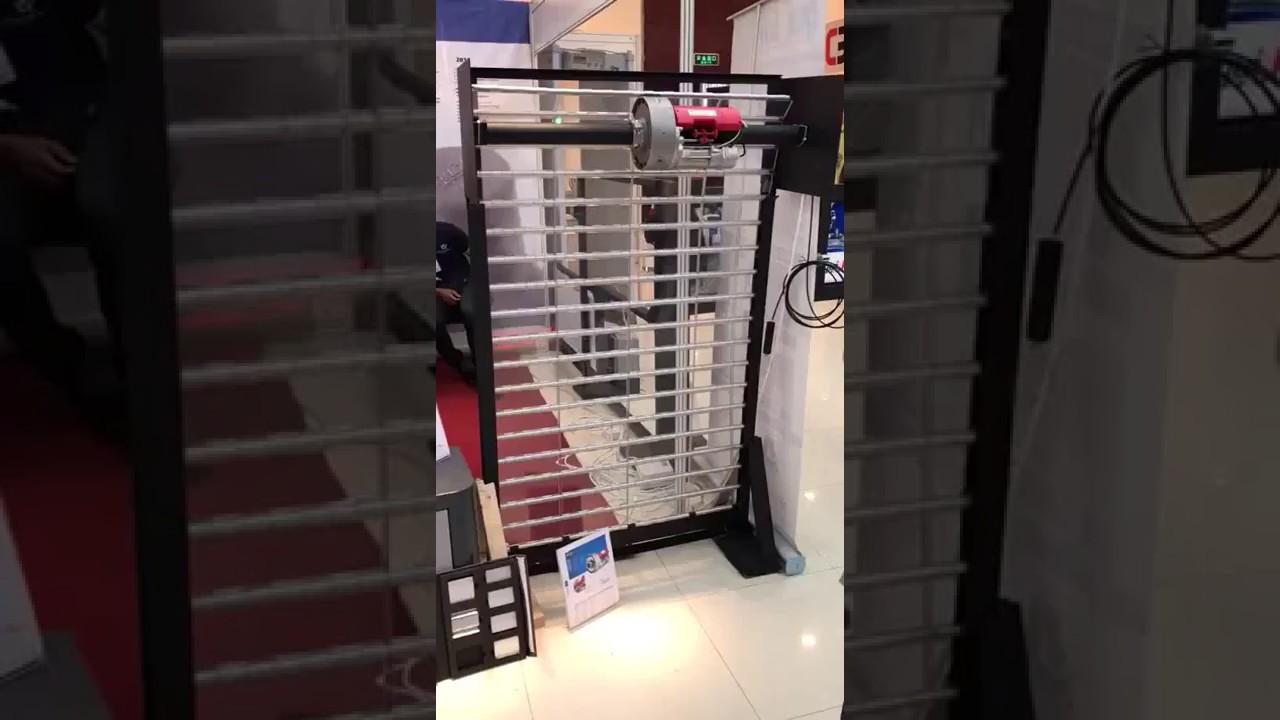 Quiko opera series roller shutter motor see through for Roller shutter motor installation