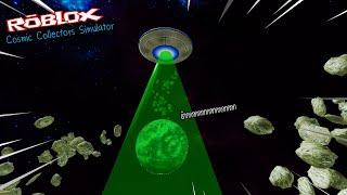 Roblox : Cosmic Collectors Simulator 🛸 จำลองการเป็นเอเลี่ยนดูดทุกสิ่งบนโลก ไปขาย!!!
