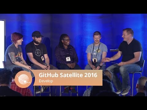 Growing and maintaining an open source project - GitHub Satellite 2016