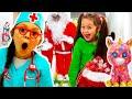 Kids Video With Santa Claus Dans Five Little Monkeys Nursery Rhymes By Chiki-Piki