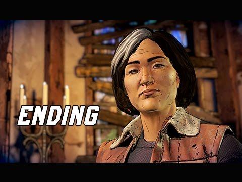 The Walking Dead A New Frontier Episode 3 Walkthrough Part 4 - ENDING (Episode 3 Let