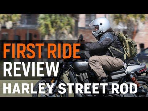 Harley Davidson Street Rod First Ride Review at RevZilla.com