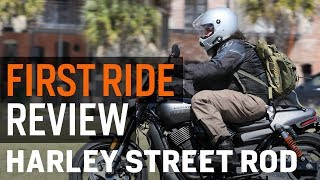 Harley Davidson Street Rod First Ride Review at RevZilla.com