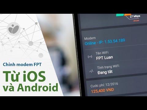 Tinhte.vn - Chỉnh modem FPT từ app Android và iOS