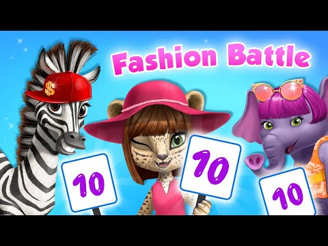 ULTIMATE Fashion Battle At Animal Hair Salon 🌟 | TutoTOONS Cartoons & Games For Kids
