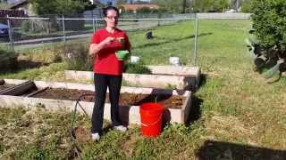 Making Alfalfa Meal Fertilizer