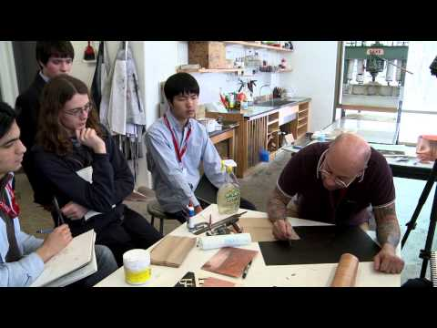 John McKaig Printmaking Techniques: Lesson 1