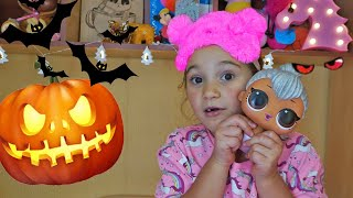 Halloween: Anna and the comic story the night