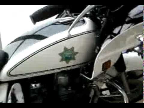 Kawasaki Kz 1000 Police 1986 Terminada Youtube