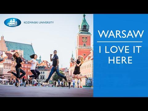 Warsaw, Poland - I love it here! [Kozminski University]