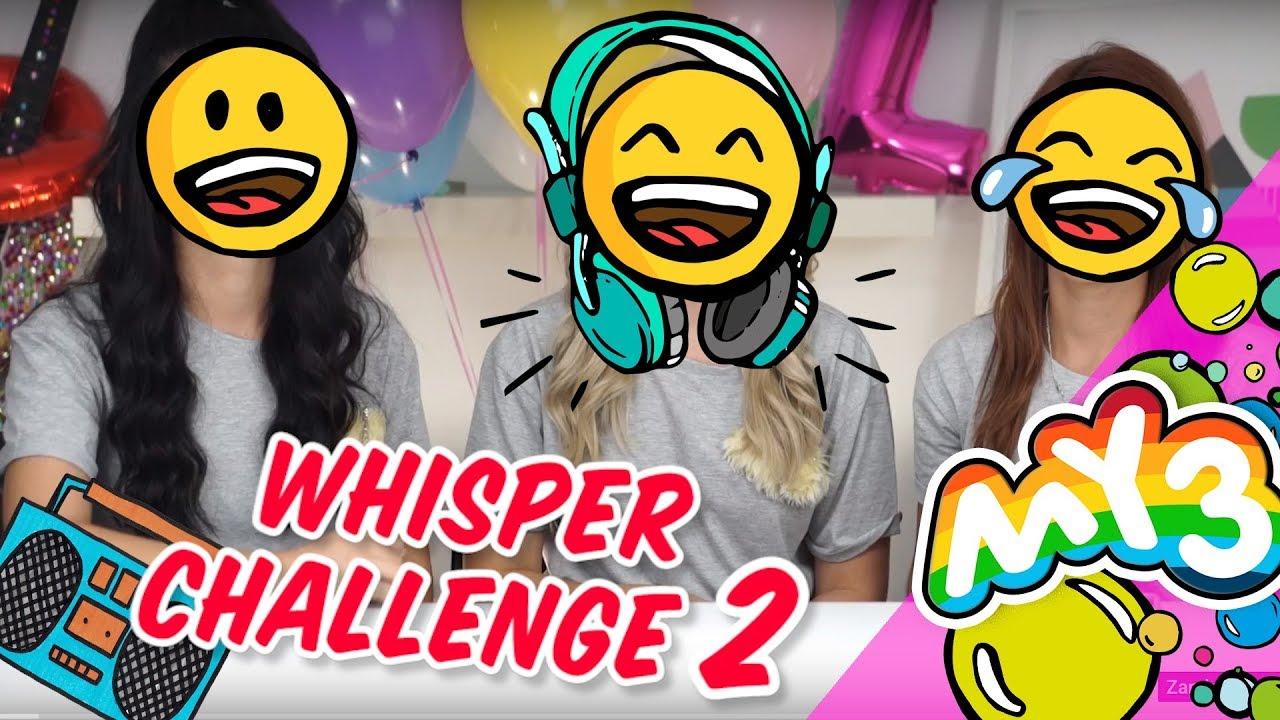 Zgadujemy piosenki tylko z ruchu ust - Whisper Challenge #2