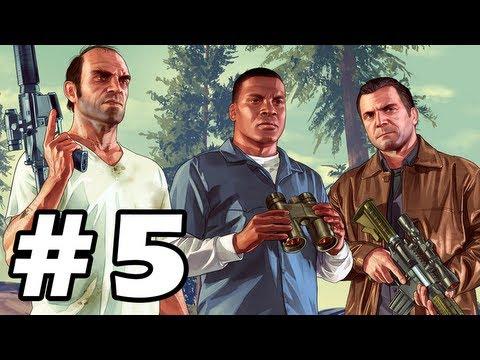 Grand Theft Auto 5 Gameplay Walkthrough Part 5 - GTA 5