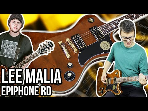 An Affordable Revival of a Classic Shape!! || Epiphone Lee Malia RD Custom Artisan Demo/Review