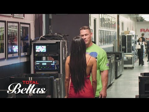 John Cena and Nikki Bella meet backstage after their breakup: Total Bellas Preview, June 3, 2018