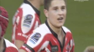 Tom Armstrong winning try for Leigh Centurions vs Halifax - Northern Rail Cup Final 2011