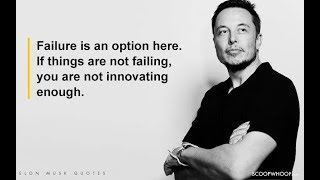 20 Inspiring Elon Musk Quotes That'll Give You Major Career Goals | Motivational video
