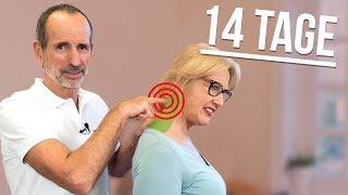 Nackenverspannungen lösen! Mache diese Übung 2 Wochen und schaue was passiert!