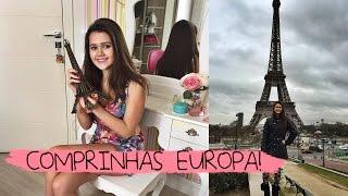 Comprinhas na Europa ♡ Decoração, roupas, acessórios, etc.