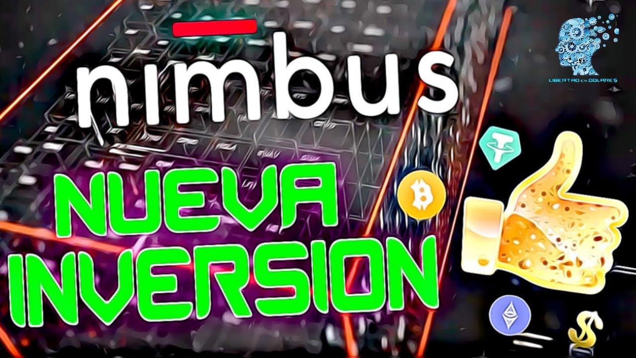 🗽💵 NIMBUS Platform NUEVA INVERSION Tutorial Español GANA Hasta un 15% MENSUAL