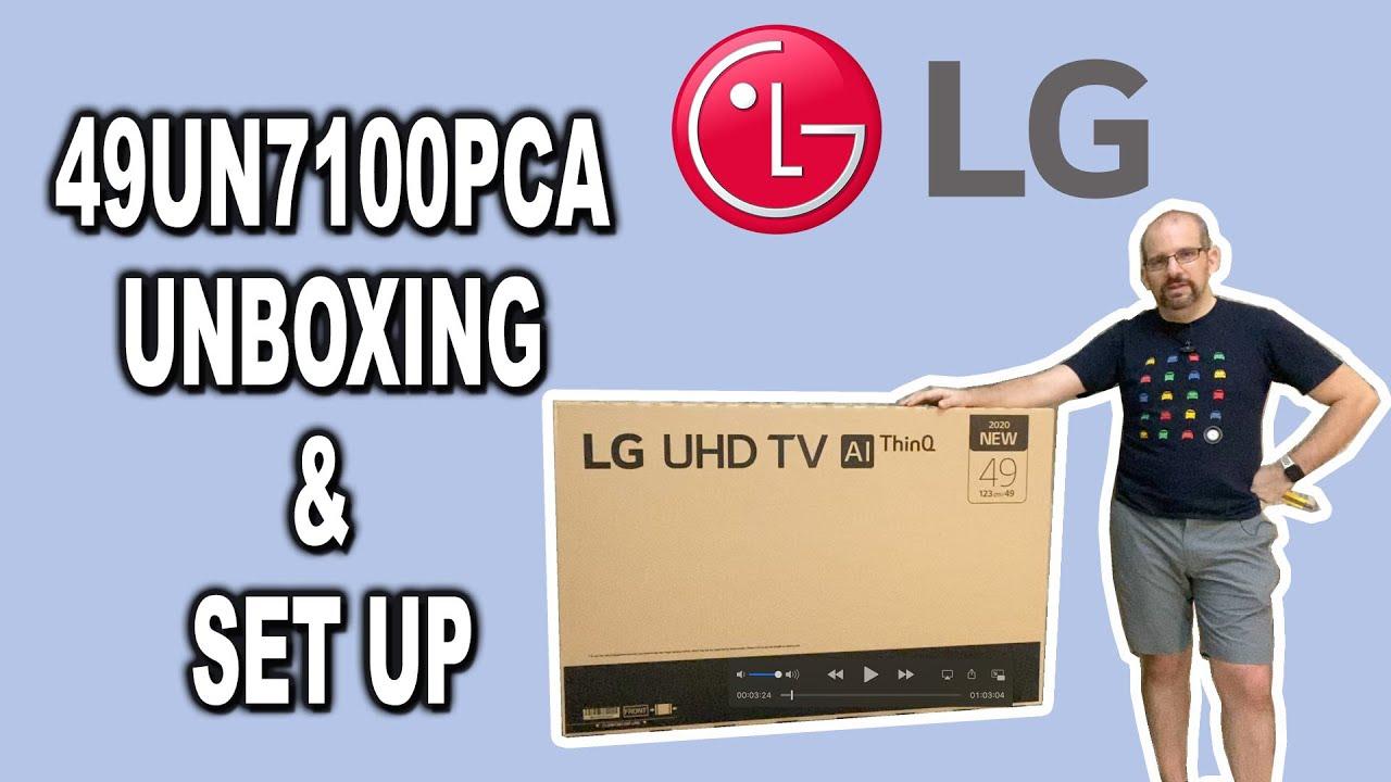 LG 43UN7100 UHD Smart TV