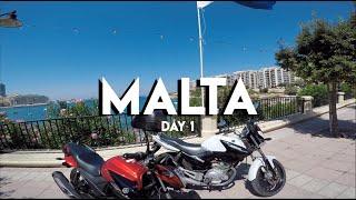 Malta Day 1 [모토브이로그, 바이크 일기, Malta]