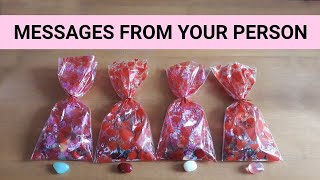 INTIMATE MESSAGES FROM YOUR PERSON ❤️💌 *Pick A Card* Charm GOODIE BAG Love Singles Tarot Reading