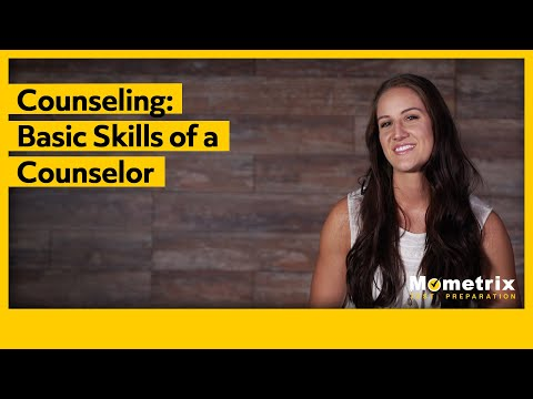 Counselor: Basic Skills Of A Counselor