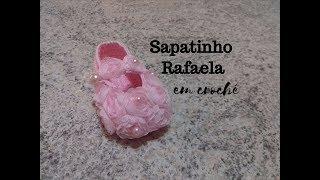Sapatinho Rafaela em crochê