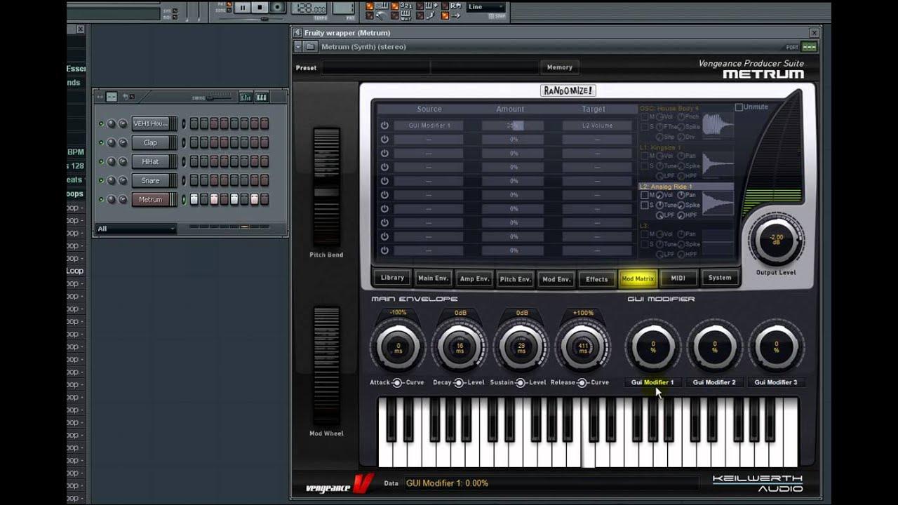 vengeance producer suite metrum kick synthesizer