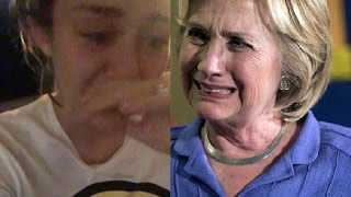 Miley Cyrus CRIES her eyes out for Hillary Clinton's LOSS to President Trump 😪😥😢😿