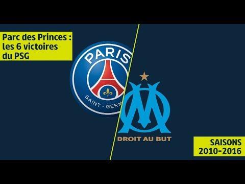 Plus grande série de victoires du PSG face à l'OM - 2010/2016 - Ligue 1 Legends
