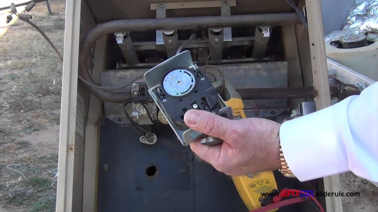 How to test and replace a Fan & Limit Control - YouTube