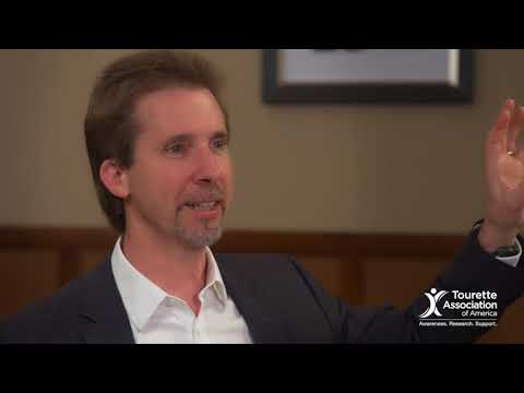 A Tourette Conversation: Dr. Peter Hollenbeck