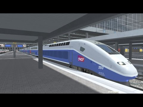 (FR) Train simulator 2015 - TGV Duplex Munich